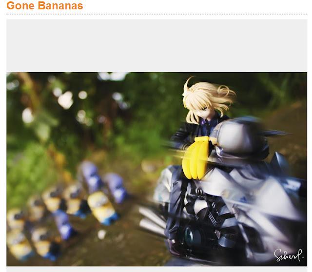 Gone Bananas by Pinkcheeks