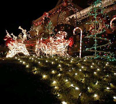 C mo decorar el jard n en navidad parte 2 for Adornos de navidad para jardin