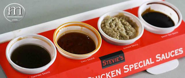 Hainanese Chicken sauces