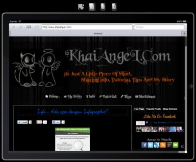 View Blog Dalam Mobile Vesion Secara Online