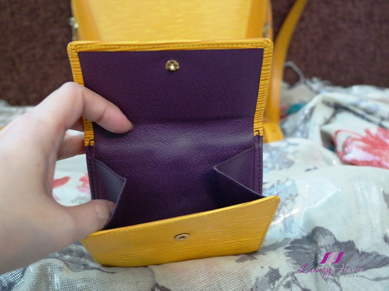 louis vuitton epi leather billfold review