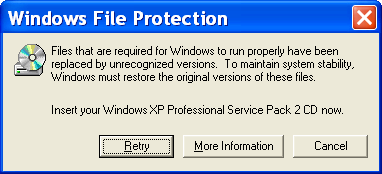 windows file protection