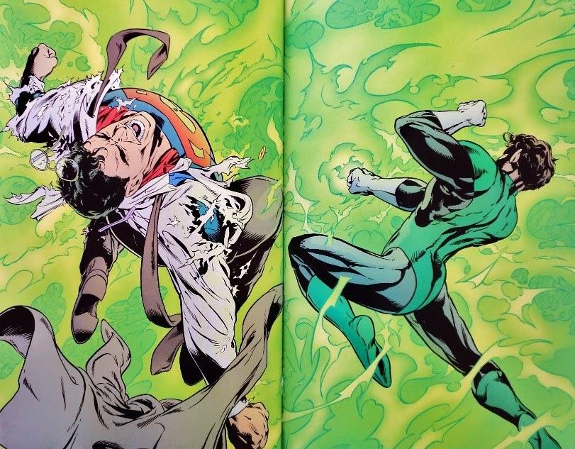 Green Lantern / Superman: Legend of the Green Flame - Neil Gaiman