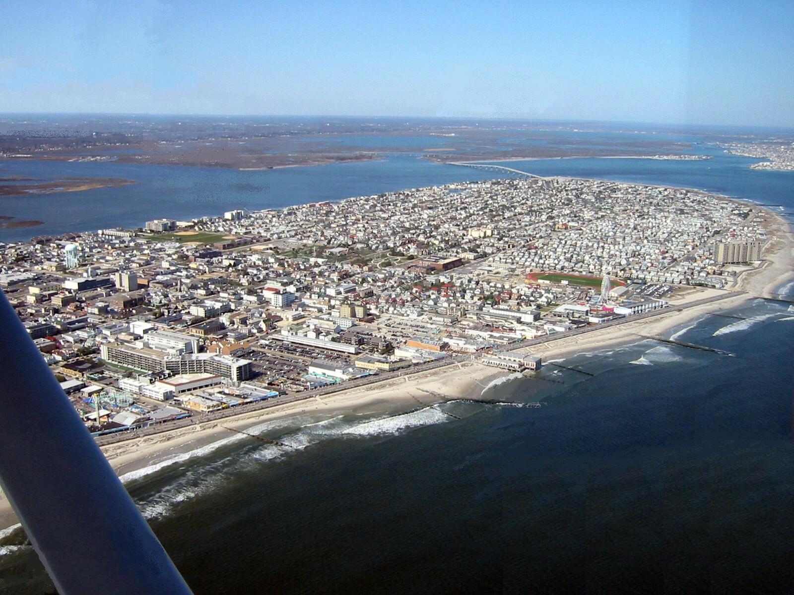 Ocean City Harbor in Ocean City, NJ, United States