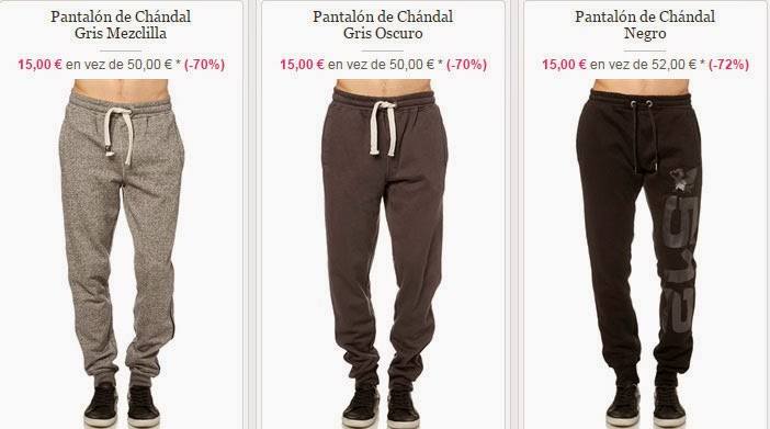 Pantalones de chándal de RG 512