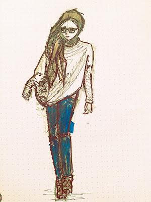 Sketch by Azyan - Jenahara