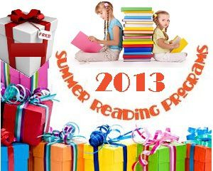 Summer reading programs for Kids in 2013