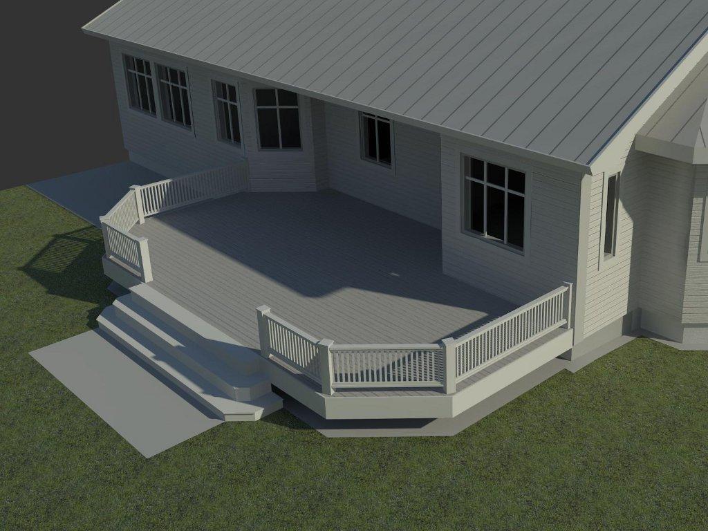 Vita huset: design