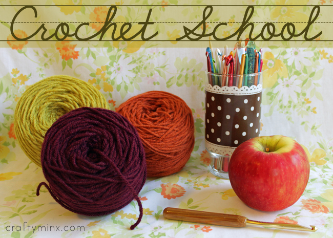 Crocheting Lessons : ... Inspirations: you wanna learn to crochet....go to crochet school
