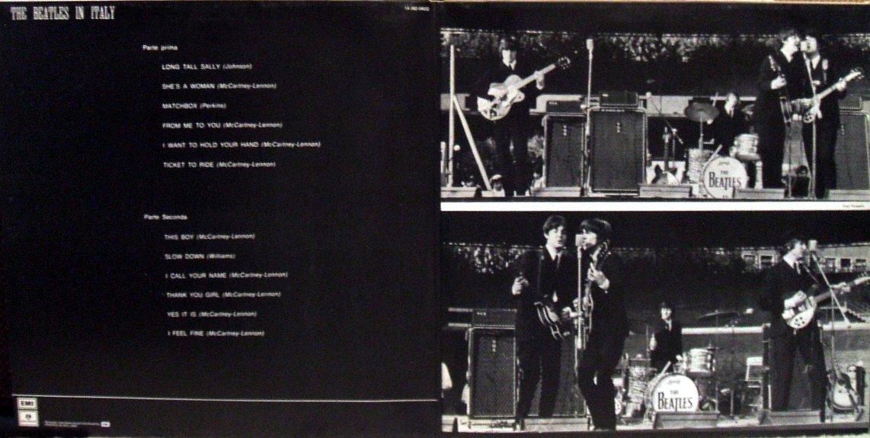 Vinyl Exam The Beatles In Italy The Beatles