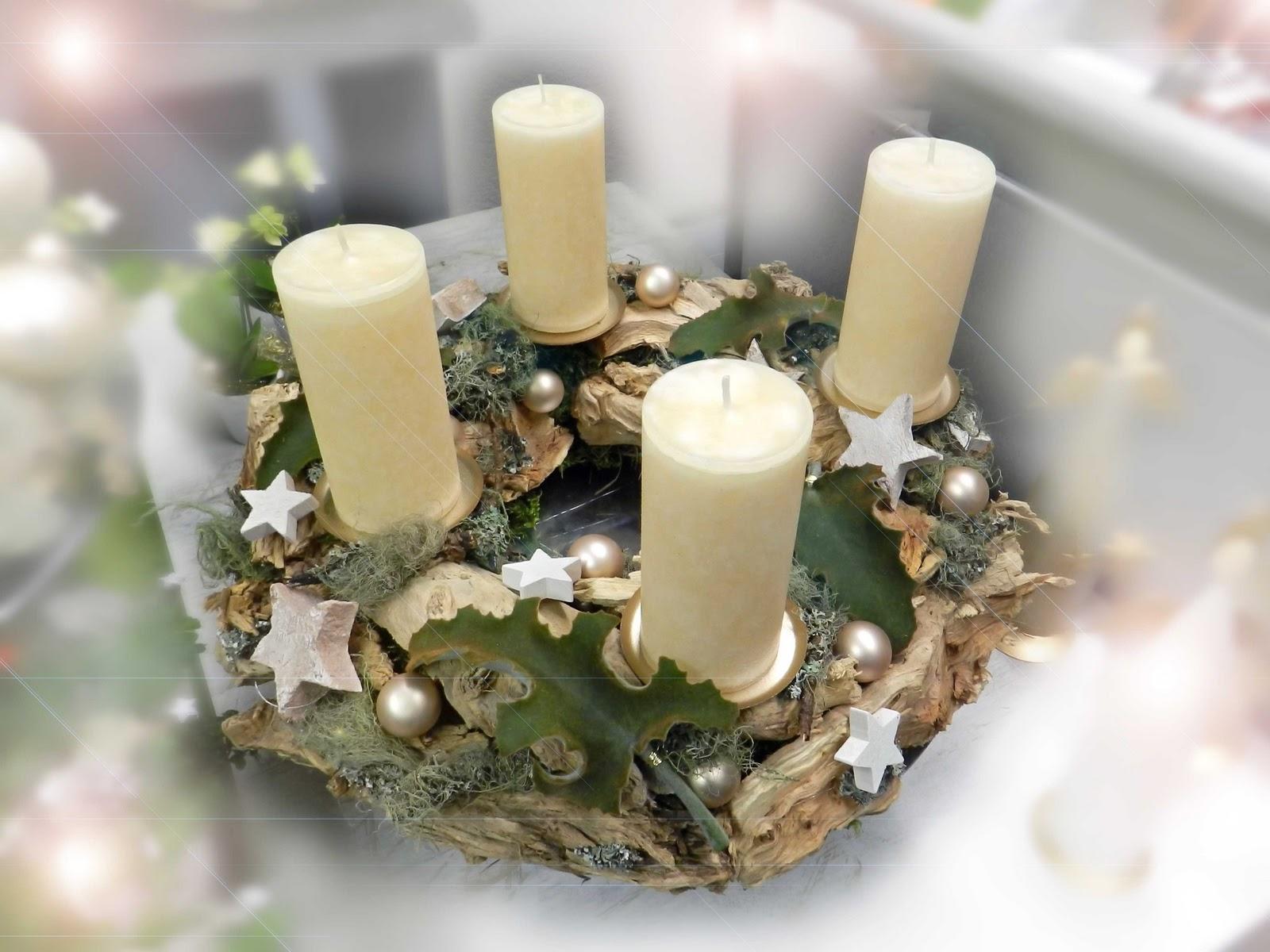 quadriga flora blumen geplauder die geschichte des adventskranz. Black Bedroom Furniture Sets. Home Design Ideas