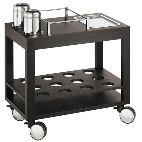Bombolini carros de servicio para comedor for Carritos con ruedas para cocina