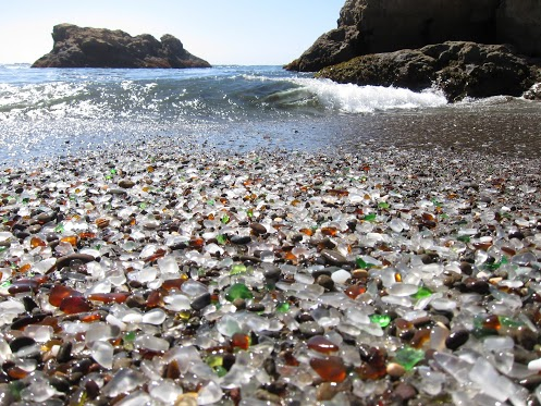 Sea+Glass+Beach+Fort+Bragg+California