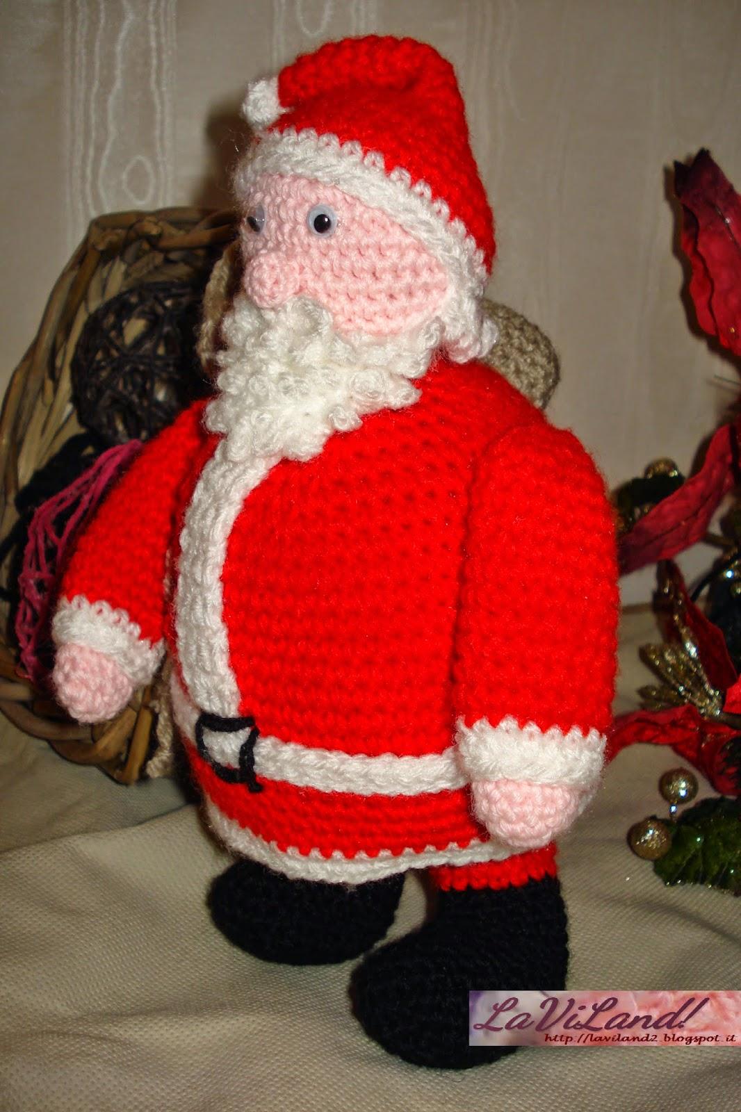 Tutorial Amigurumi Babbo Natale Uncinetto : Laviland: Babbo Natale Amigurumi