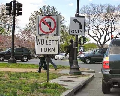 http://www.funnysigns.net/only-no-left-turn/
