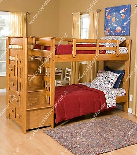 David Easy Bunk Bed Plans Stackable Wood Plans US UK CA