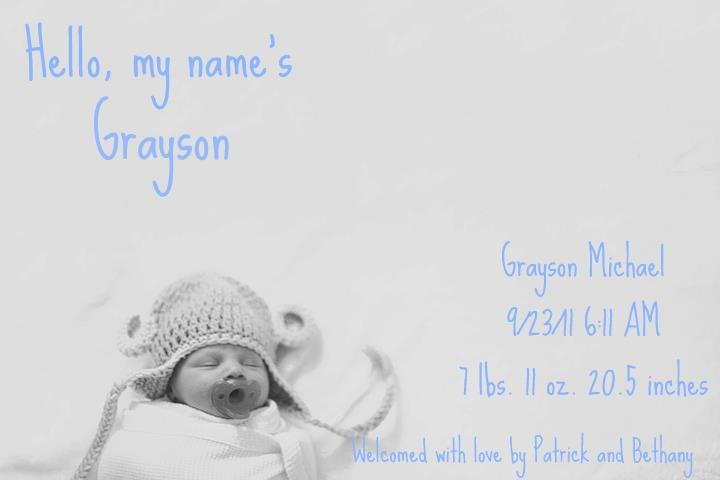 In this Crazy Life DIY Birth Announcements – Diy Birth Announcements