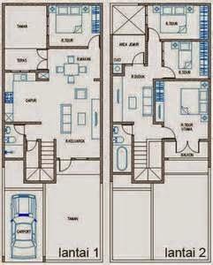 Salah satu dari sekian banyak tipe denah yang banyak dicari yaitu denah rumah ukuran 7x12.