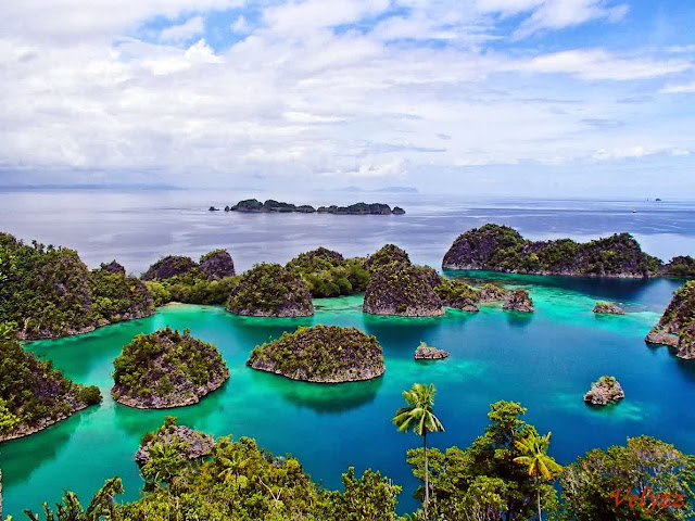The islands of Raja Ampat