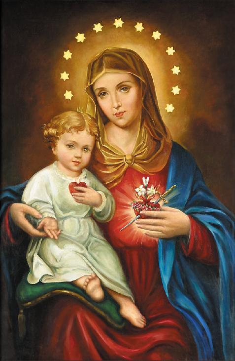 Stella Maris +: The Immaculate Heart of Mary