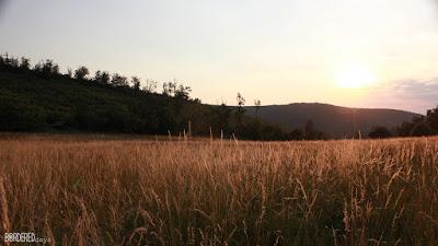 Kun-rét, Börzsöny, sunset