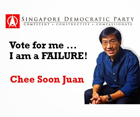 SDP Singapore Chee Soon Juan