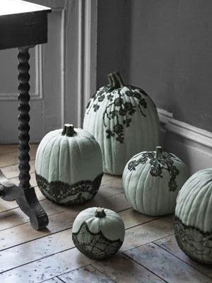decoración con calabazas