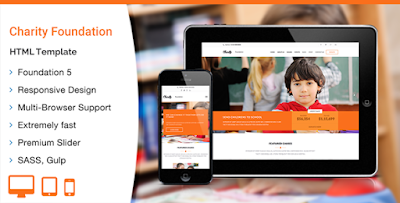 Charity Foundation – HTML Template Free Download
