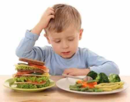Makanan kanak-kanak yang kurang sihat
