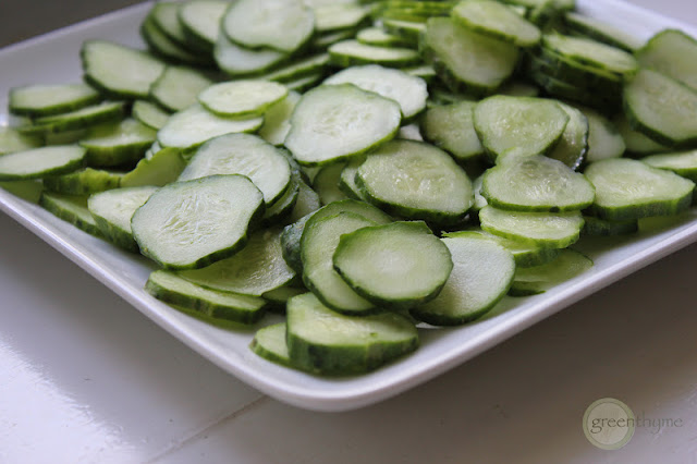 greenthyme: Quick Homemade Pickles