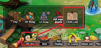 Hướng dẫn vào Chiến Lược Tăng EXP trong game Lãng Khách