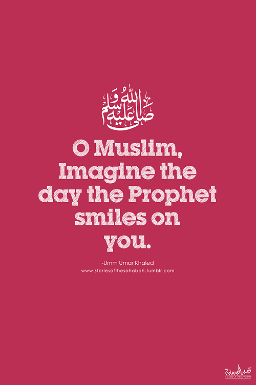 The Day The Prophet Smile At You