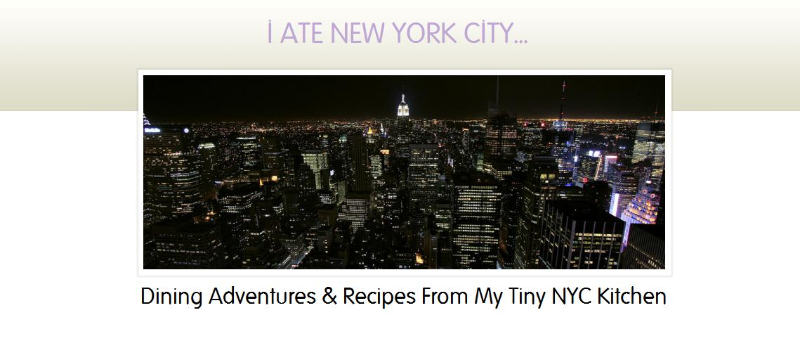 I Ate New York City