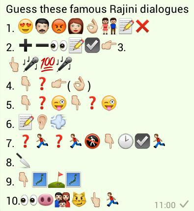 Guess these Famous Rajini Dialogues
