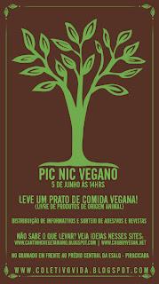 1º Pic Nic Vegano em Piracicaba