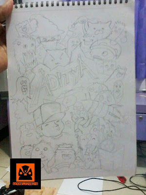 commission doodle art by ANGGITA BAYU