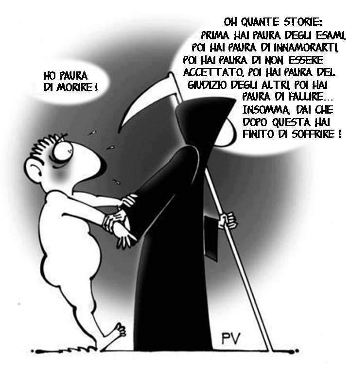 Famoso ♥: DIVERTENTI VIGNETTE SULLA MORTE - Pietro Vanessi MN83