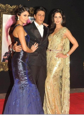 Katrina Kaif,Anushka Sharma and Shahrukh Khan Pictures