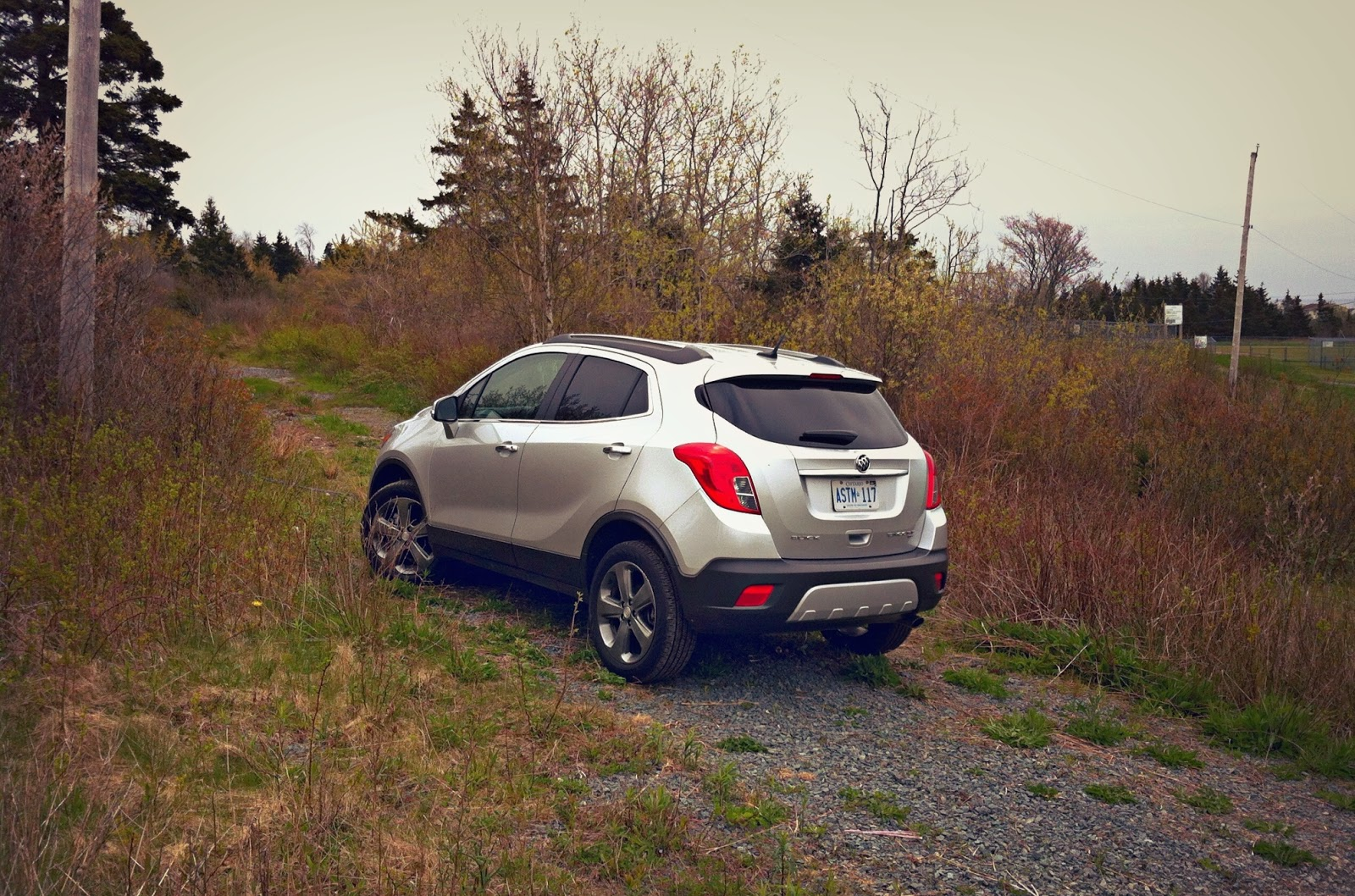 2014 Buick Encore AWD rear angle
