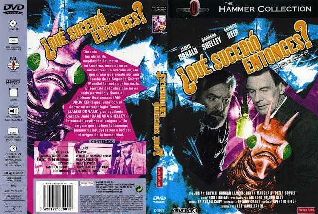 Carátula de dvd: Qué sucedió entonces ?