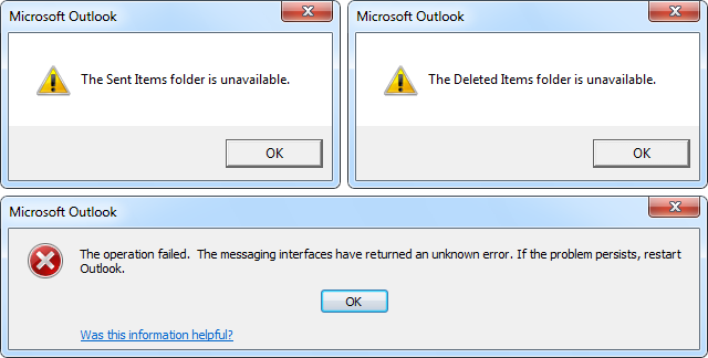 Fix 'Messaging Interface Error' in MS Outlook - Troubleshooting Tips