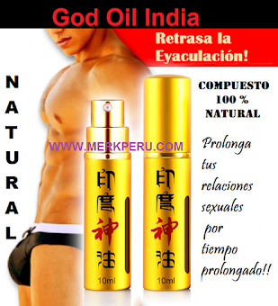 Spray GOD OIL INDIA