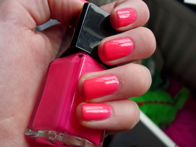 Collide Illamasqua Nail Polish Swatch