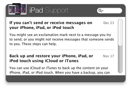 iPad Support