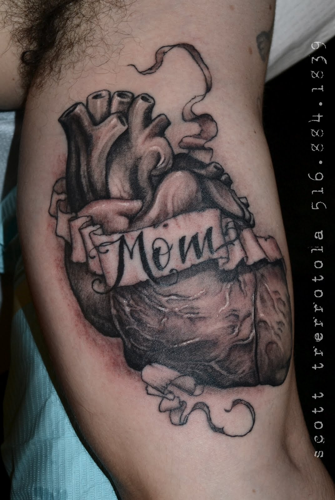 Real Metal Heart TattoosReal Metal Heart Tattoos