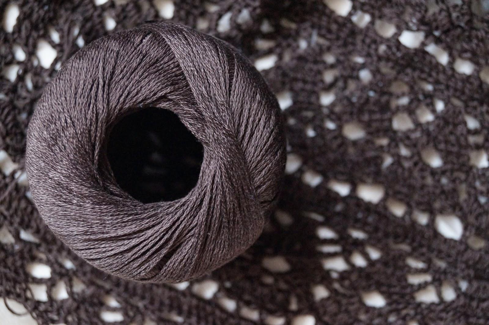 вязание крючком, ажур