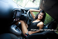 hot Tiara Sakti di Majalah Popular World Agustus 2012
