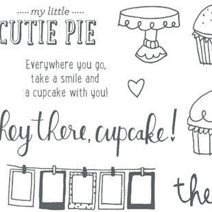 Stamp of the Month: Cutie Pie