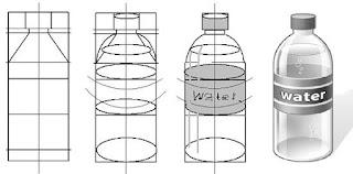 Teknik dan cara mudah menggambar bentuk objek