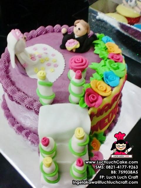 kue tart ulang tahun pernikahan